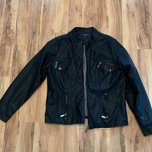 Apt. 9 Leather Jacket, Size XL.